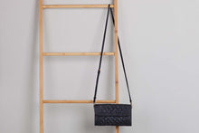 Load image into Gallery viewer, Ovae -Wilma Woven Clutch Black