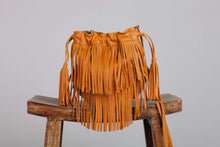 Load image into Gallery viewer, Ovae -Lucia Fringe Bag Turmeric