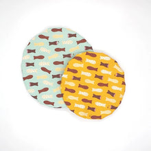 Load image into Gallery viewer, Chocolate Fish Bowl Covers (Set of 2)