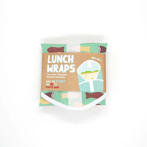 Chocolate Fish Lunch Wrap