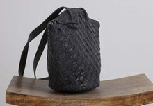 Load image into Gallery viewer, Ovae -Clementine Woven Bag Black
