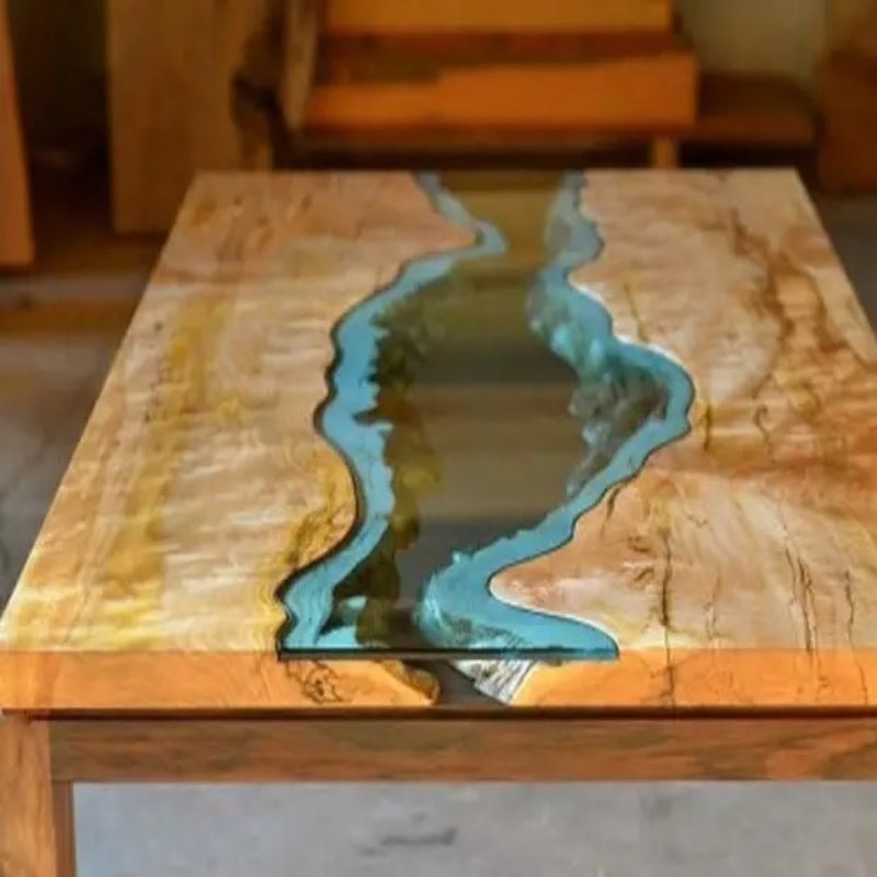 Custom Riverbed Table
