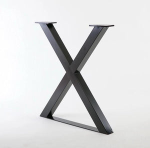 X-Shaped Table Support