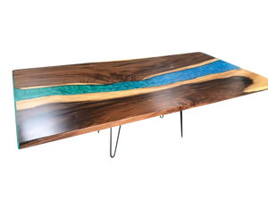 Walnut Riverbed Table