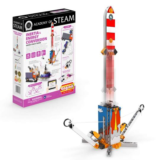STEM STEAM Rocket Booster for 7 year olds