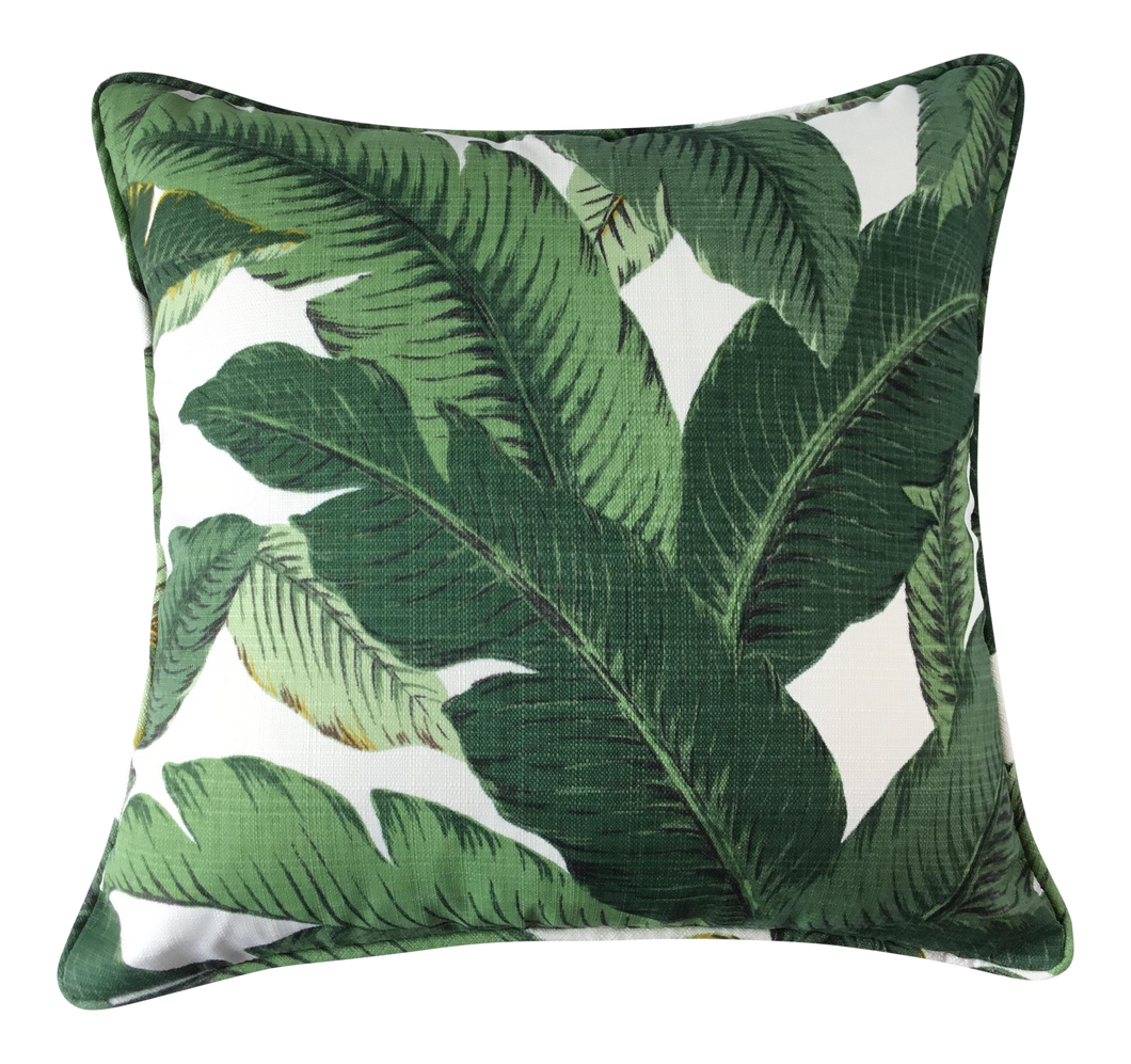 New Boho Chic Palm Indoor/Outdoor Pillow