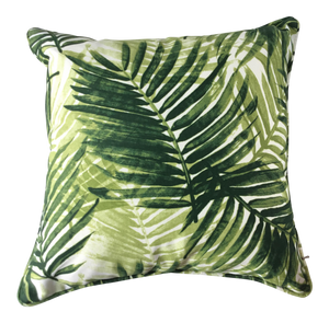 New Boho Chic Fern Indoor/Outdoor Pillow