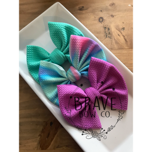 Color Flow Trio 3 Pack  -  Hair Bow or Headband