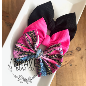 Girly 3 Pack  -  Hair Bow or Headband