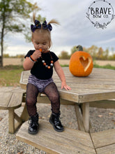 Load image into Gallery viewer, Halloween Words Hair Bow - Clip or Nylon