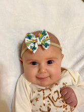 Load image into Gallery viewer, Clovers, Hats, and Rainbows St Patricks Day Hair Bow - Clip or Nylon