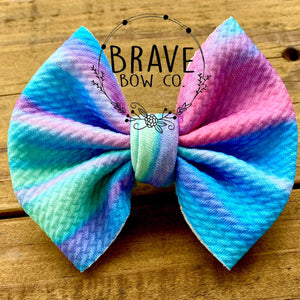 Color Flow Hair Bow - Clip or Nylon