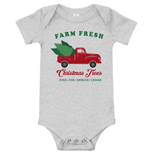Load image into Gallery viewer, Christmas Farm Fresh Baby Body Suit