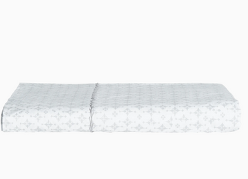 JR Pataka Gray Fitted Sheet Queen