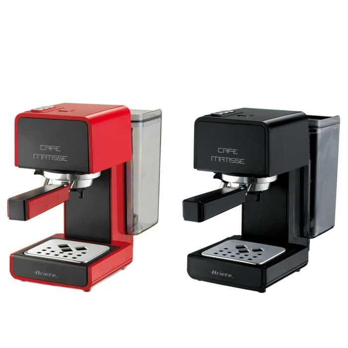 ARIETE COFFEE MACHINE ESPRESSO MATISSE BLACK/RED