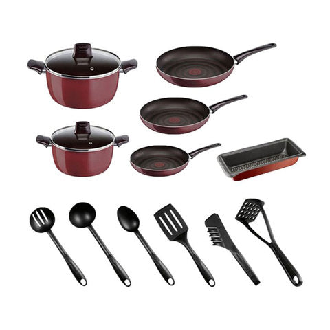 TEFAL PLEASURE SET OF 14PCS