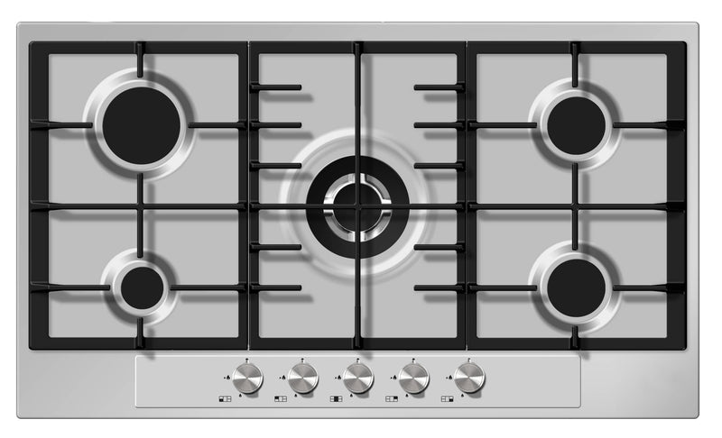 FRANCE PFI95TNXG INOX GAS HOB 90CM SAFETY