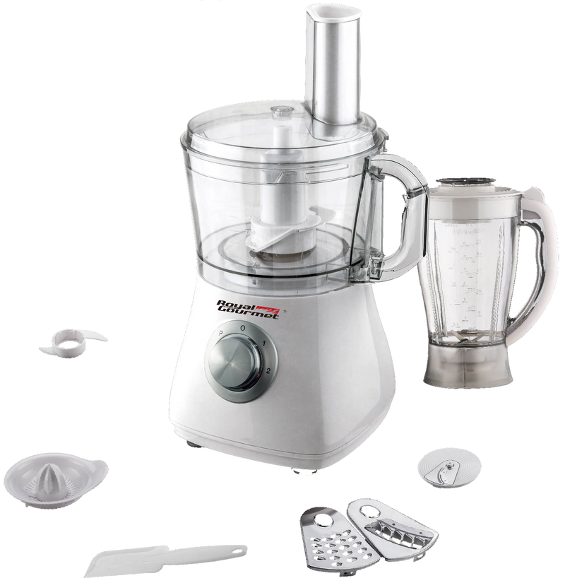 ROYAL GOURMET FOOD PROCESSOR SS WITH BLENDER&JUICER-RGFP800
