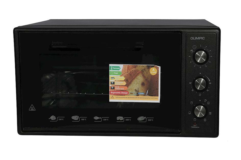 Olimpic Electric Oven 48L Black