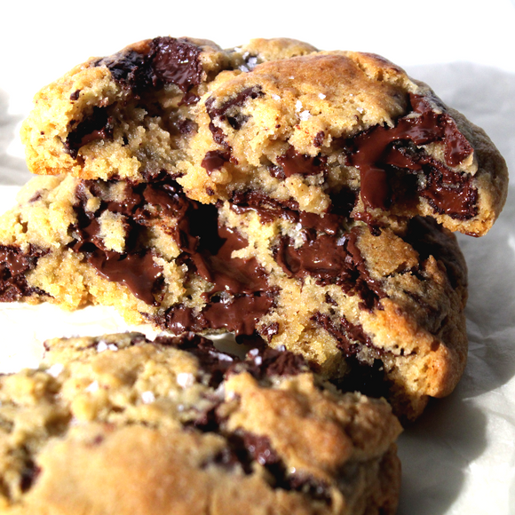 Cookie vegan com pepitas de chocolate - 4 uni