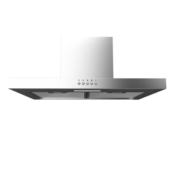 Midea 60cm T-Shape Rangehood Black 60M17(SS) - Midea | Home Appliances New Zealand