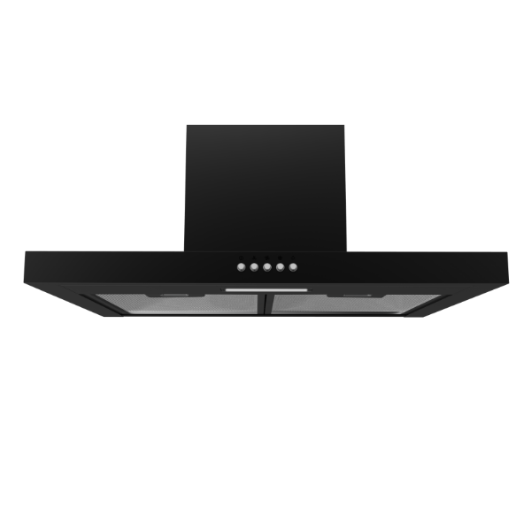 Midea 60cm T-Shape Rangehood Black 60M17(Black) - Midea | Home Appliances New Zealand