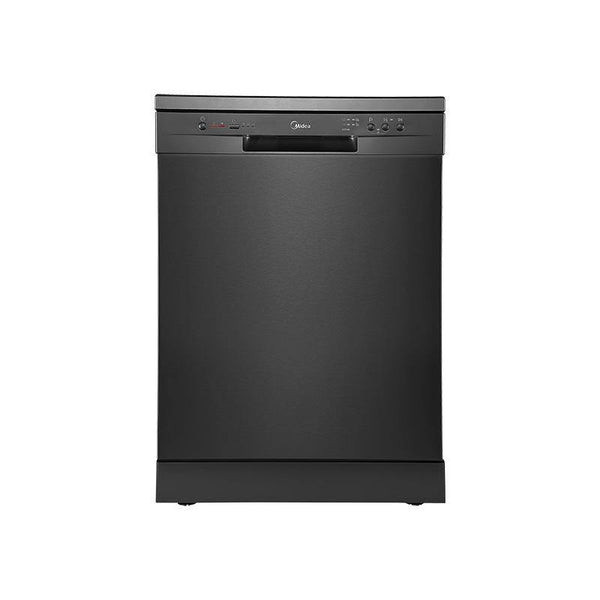 Midea14 Place Setting Dishwasher Black Steel JHDW143BK - Mideanz