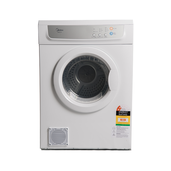 Midea 7KG Vented Dryer (Only Front vented) DMDV70 - Midea | Home Appliances New Zealand