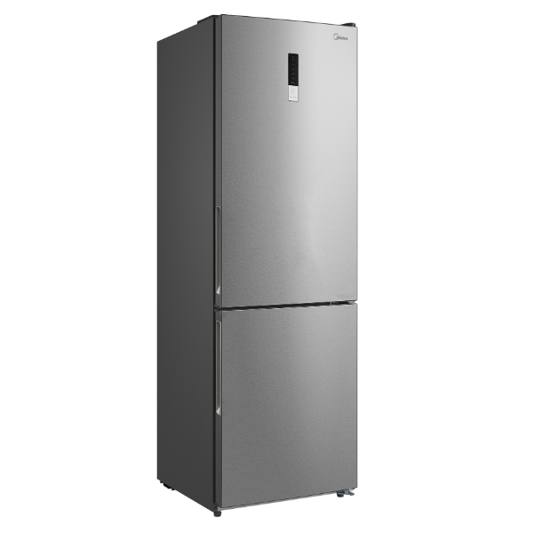 [Essential item] Midea 323L Fridge Freezer Stainless Steel JHBMF323SS
