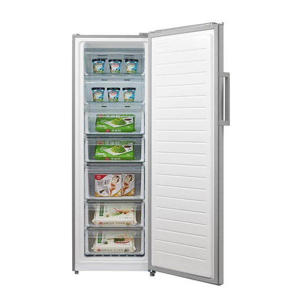 [Essential item] MIdea 268L Upright Freezer/Fridge Dual Mode Stainless Steel JHSD268SS - Mideanz