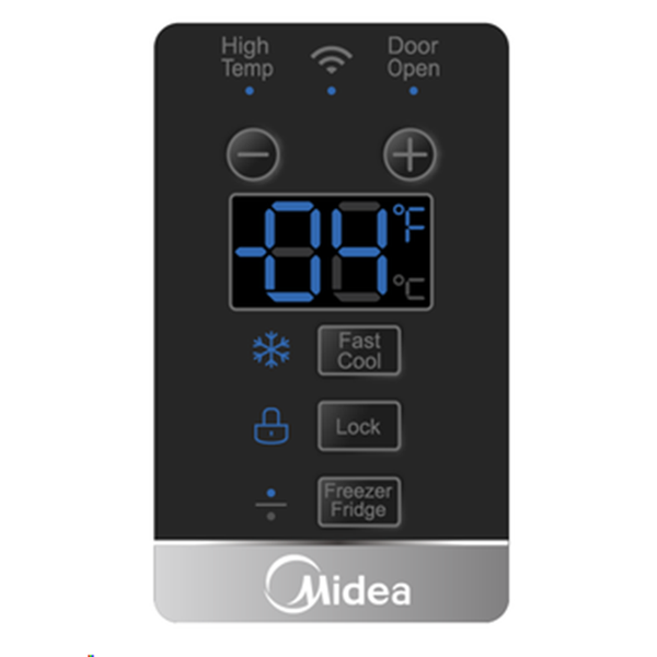 [Essential item] MIdea 418L Upright Freezer/Fridge Dual Mode Stainless Steel JHSD418SS - Midea | Home Appliances New Zealand