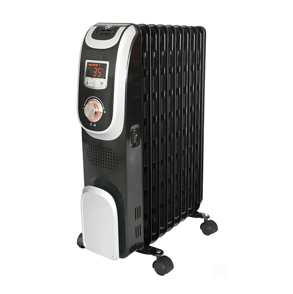 [Essential item] Midea 9 Fin 2000w Oil Heater NY2009-13A1L - Midea | Home Appliances New Zealand