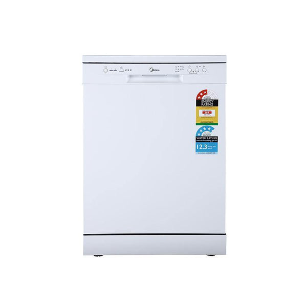 [Essential item] Midea 14 Place Setting Dishwasher White  JHDW143WH - Mideanz