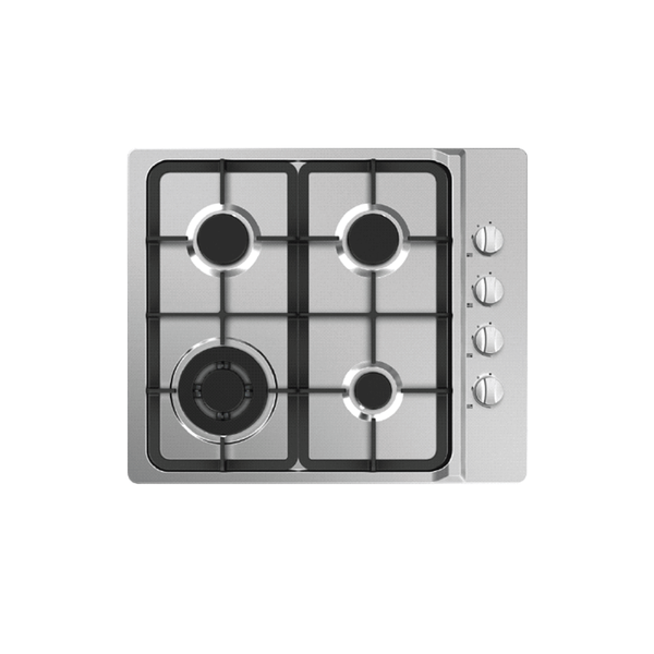 [Essential item] Midea 60cm Gas Cooktop Stainless Steel 60G40ME403-SFT - Mideanz