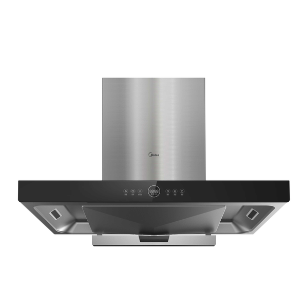 Midea T-Shape Rangehood -Steam Wash TT9032