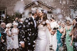 How to Get the Perfect Wedding Confetti Photos