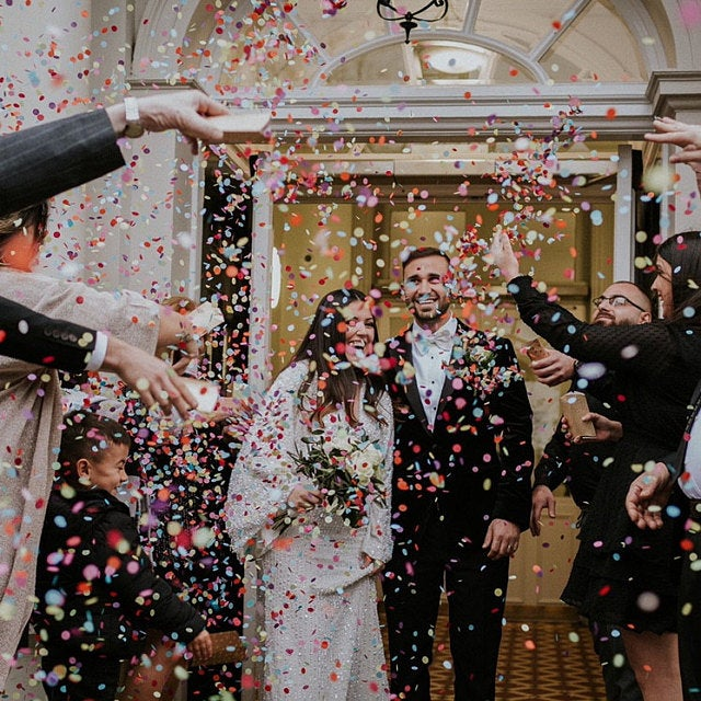 Wedding Confetti Photos | Proper Confetti