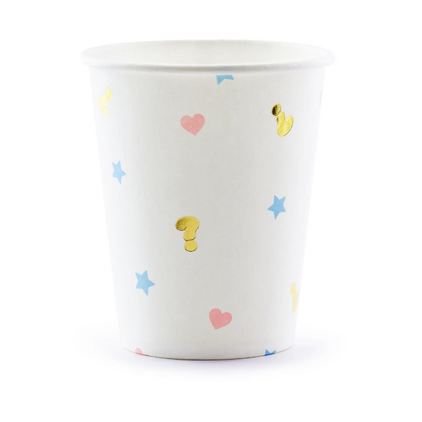 Gender Reveal Party Cups - Proper Confetti