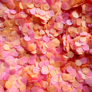 Juicy Fruit Confetti Circles