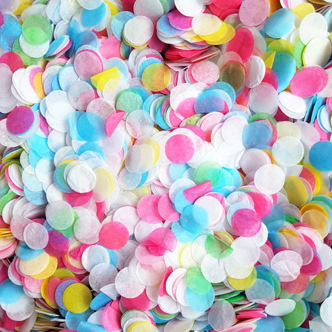 Bright Rainbow Confetti - Biodegradable Confetti by Proper Confetti