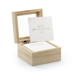 Wedding Advice Box