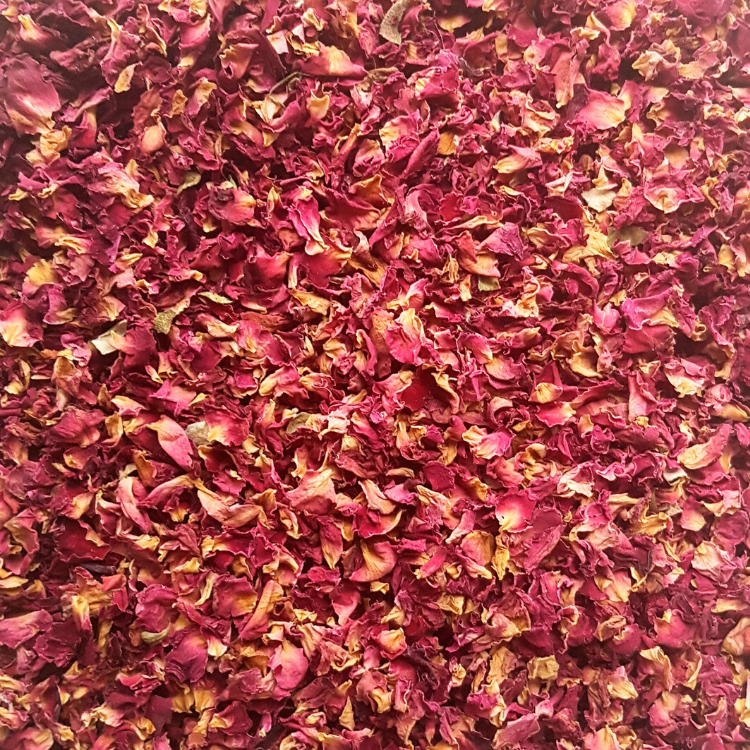 Dried Rose Petal Confetti
