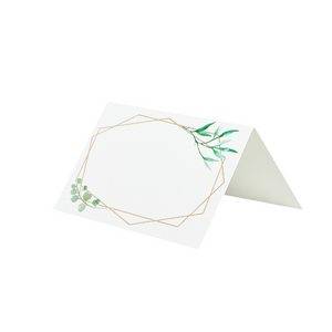 10 Greenery Place Cards
