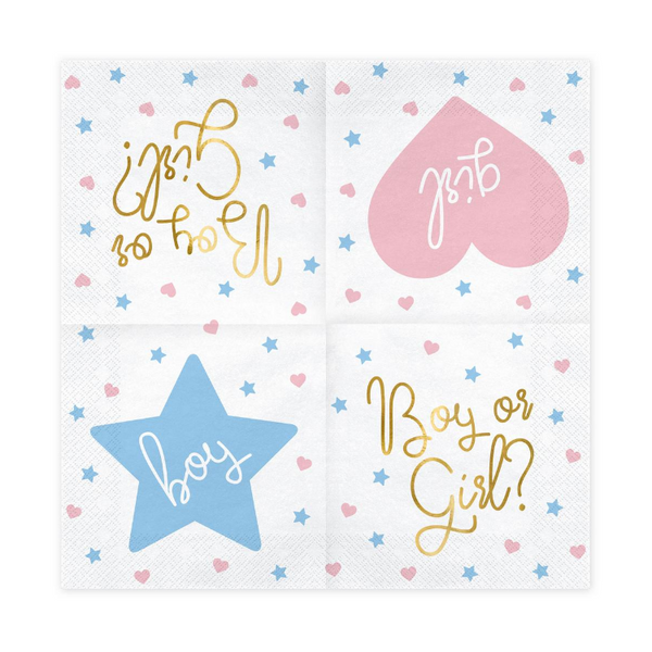 Gender Reveal Party Set | Proper Confetti