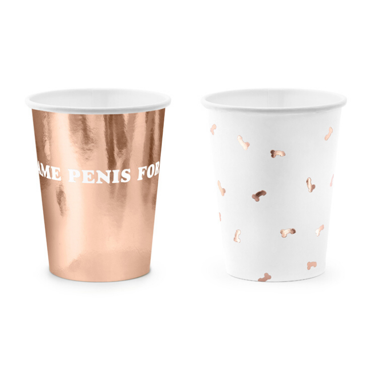 Same Penis Forever Cups - properconfetti.myshopify.com