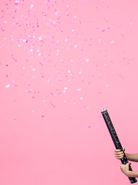 Giant Gender Reveal Confetti Cannon - Pink