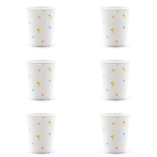 Boy or Girl Paper Cups - properconfetti.myshopify.com