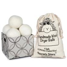 Load image into Gallery viewer, Wool Dryer Balls, Pack of 6