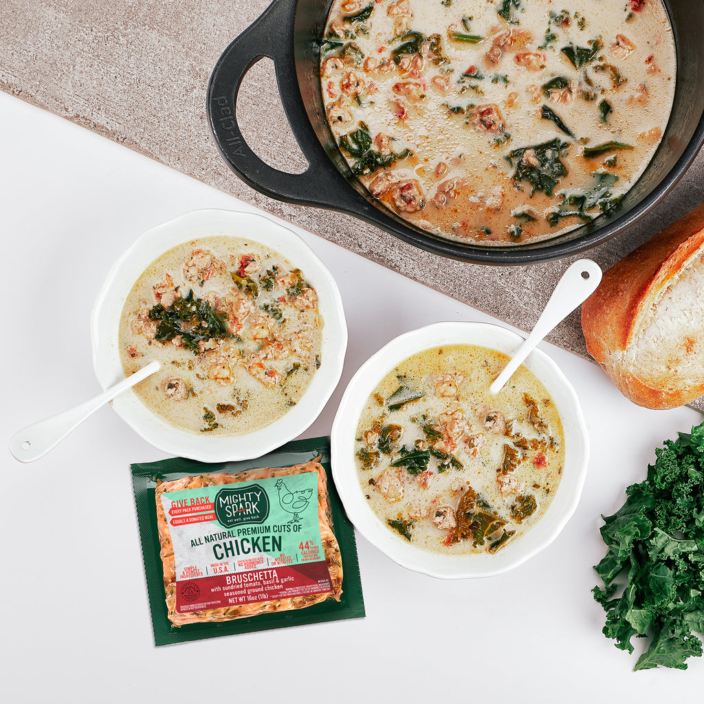 CREAMY TUSCAN SOUP