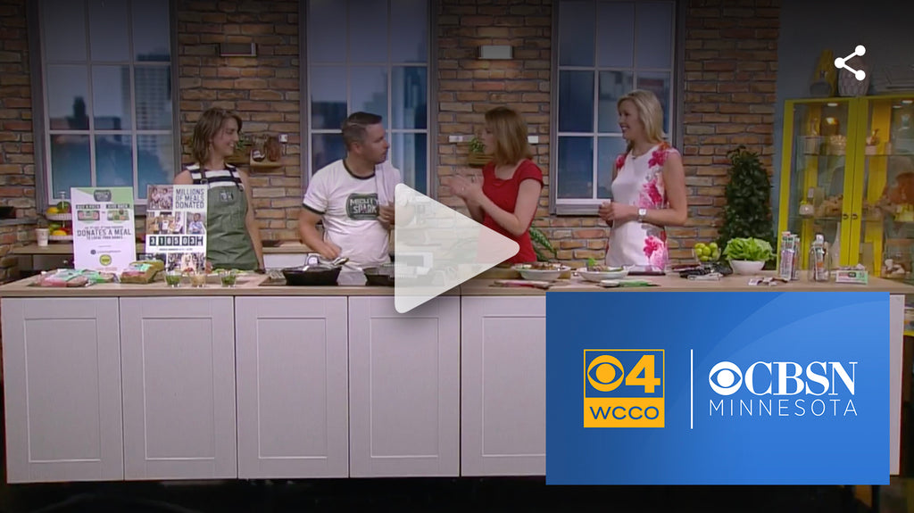 Cooking With WCCO: Mighty Spark Take On Food Insecurity
